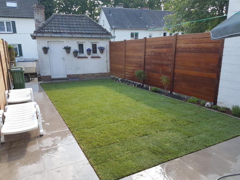 Merelbeke: kleine knusse tuin