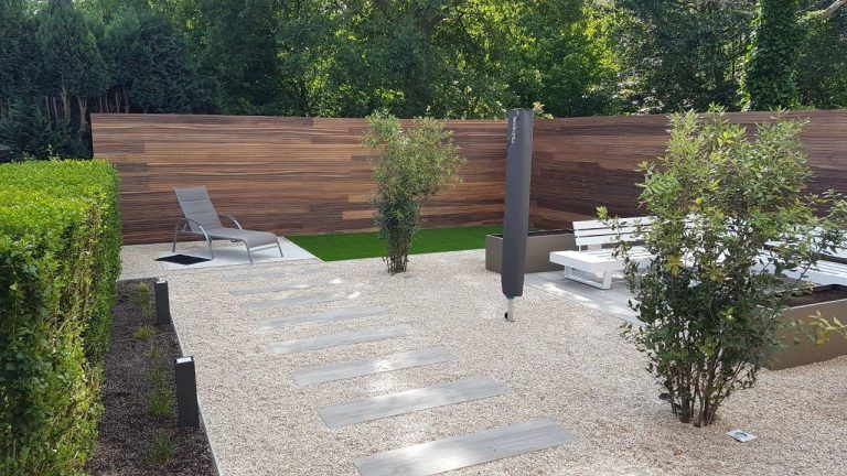 St Amandsberg GENT: romantische achtertuin